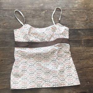 Loft Cotton Dressy Tank Embroidered 6